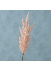 Ramura decorativa artificiala Pampas Roz deschis, H94 cm