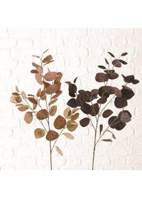 Ramura decorativa artificiala Dichondra Multicolor, Modele Asortate, H95 cm
