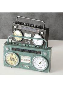 Ceas de masa Cassette Recorder Verde / Negru, Modele Asortate, L35xl8xH20 cm