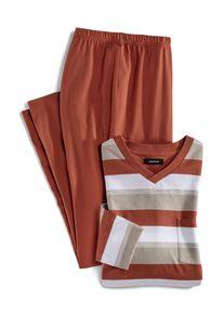Walbusch Herren V-Pyjama Terra