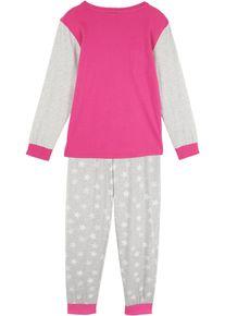 bonprix Meisjes, Pyjama (2-dlg. set) van biologisch katoen, pink, Kinderen