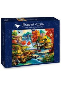 Bluebird Puzzle Country House by the Water Fall Puzzel (1000 stukjes)