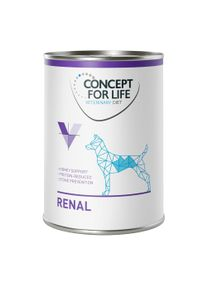 Concept for Life Veterinary Diet Renal.- maxi lot % : 48 x 400 g