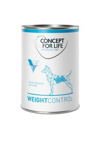 Concept for Life Veterinary Diet Weight Control.- 6 x 400 g