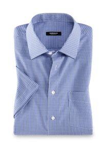 Walbusch Herren Hemd Bügelfrei-Hemd Kent-Kragen bügelfrei