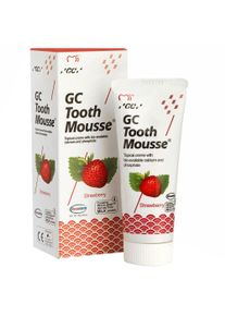 Dent-o-care GC Tooth Mousse Erdbeere 40 g Tube