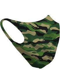 HMS Design Solutions Collection Mund-Nasen-Maske Mund-Nasen-Maske Nr. 05 Camouflage Grün 6 Stk.