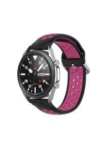INCOVER,Master Universal Smartwatch To-Farget Silikon Reim (20mm) - Sort / Rosa