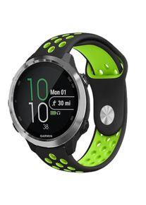 INCOVER Smartwatch 20mm Hullet Silikon Reim - Svart / Grønn