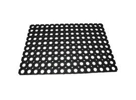Schmutzfangmatte Gummiring, Maße: 40 x 60 cm, Material: Gummi, Farbe: schwarz