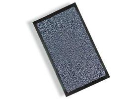 Schmutzfangmatte, Fußmatte in Spitzenqualität für Eingangs-/Empfangsbereich, 60 x 90 cm, blau-meliert