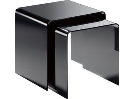 Places of Style Beistelltisch Remus, aus Acrylglas schwarz Beistelltische Tische