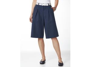 Walbusch Damen Leinen Hosenrock einfarbig