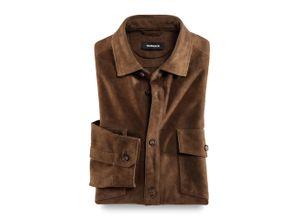 Walbusch Herren Hemd-Jacke Comfort Fit