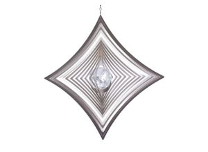 ILLUMINO Windspiel »Edelstahl Windspiel Quadrat-hochkant-konkav