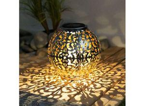 etc-shop LED Dekolicht, Solar Lampe Outdoor Solarleuchte orientalisch LED Solar Laterne Außen