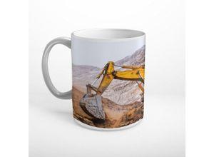 DesFoli Tasse »Bagger Baumaschine Baustelle T0409
