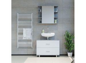 Vicco Waschbeckenunterschrank »ILIAS Weiß Beton