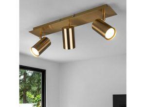 etc-shop LED Deckenspot, Deckenlampe 3-Flammig
