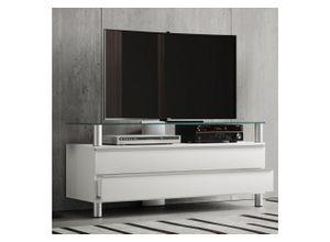VCM TV-Board »Holz TV Lowboard