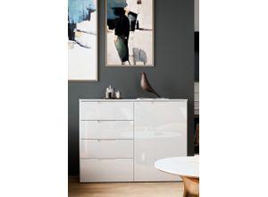 Newroom Kommode »Milano«, Weiß Hochlglanz
