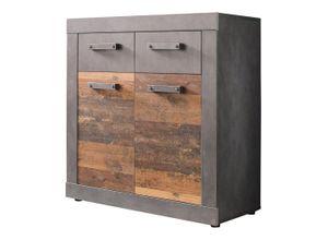 Newroom Kommode »Jamell«, Sideboard Anthrazit