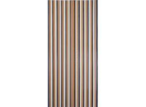 Türvorhang »Streifenvorhang Türvorhang Fliegenvorhang Braun
