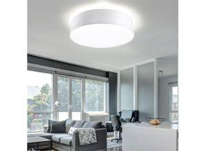 etc-shop Deckenstrahler, Deckenlampe PVC Stahl