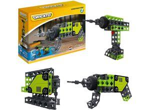 LeNoSa Konstruktionsspielsteine »TWICKTO 3 in 1 Spielzeug / Akku-Bohrer • Stichsäge • Bohrmaschine 72tlg.«