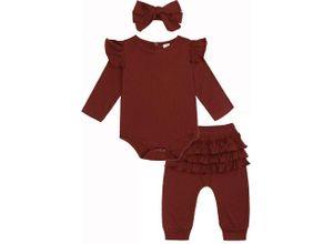 TOPMELON Shirt, Leggings & Haarband