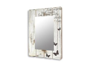Levandeo® Wandspiegel, Spiegel Wandspiegel Flurspiegel