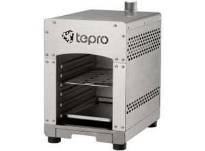 Tepro Gasgrill »Toronto Steakgrill Basic«, BxTxH: 23x41,5x36 cm, silberfarben