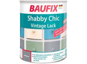 Baufix Acryl-Buntlack »Shabby Chc Vintage Lack«, 0,75 Liter, grau, grau