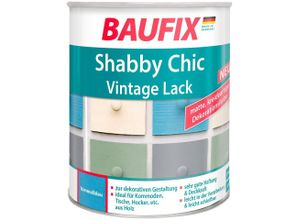 Baufix Acryl-Buntlack »Shabby Chc Vintage Lack«, 0,75 Liter, blau, blau