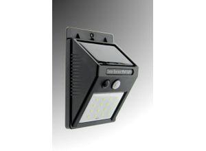 TRANGO LED Solarleuchte, SOL-YF16 LED Solar Wandstrahler IP54 *GREEN* Wandleuchte I Solar Wandlampe mit Bewegungsmelder I Solar Außenleuchte I Solarlampen mit Bewegungssensor I Außenwandlampe I Sensor Strahler